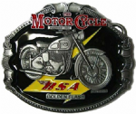 BSA Golden Flash Motorbike Belt Buckle